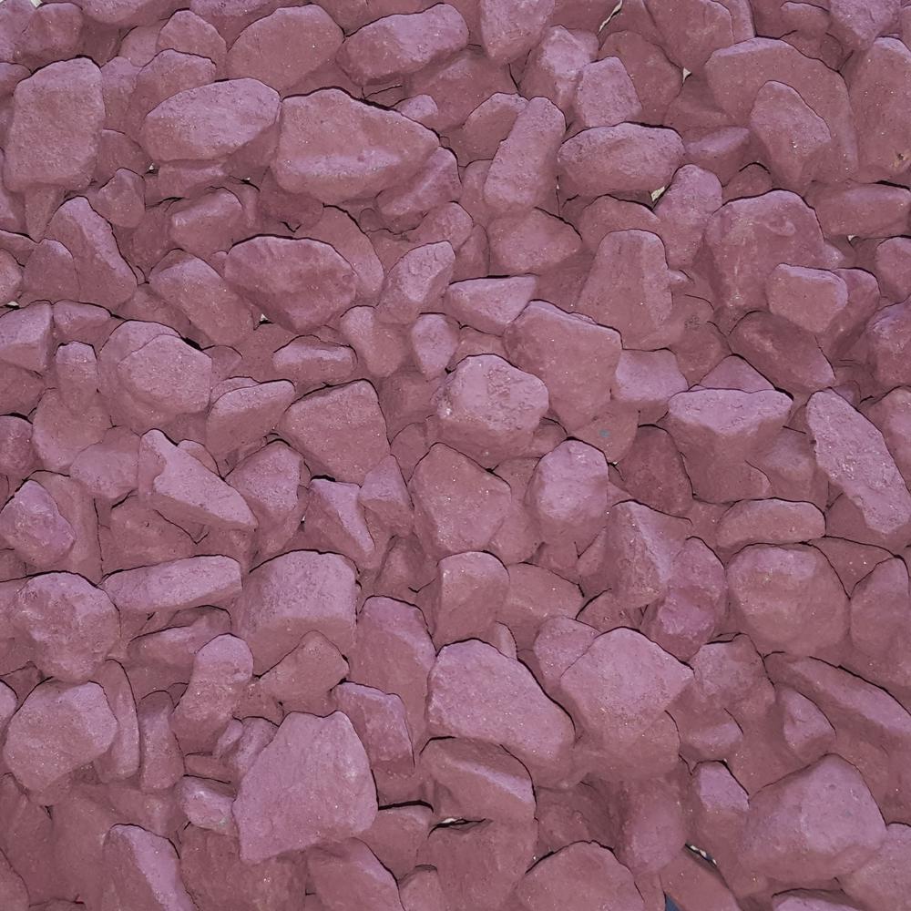 0.25 cu. ft. 20 lb. 3/4 in. Lavender Blush Landscaping Gravel