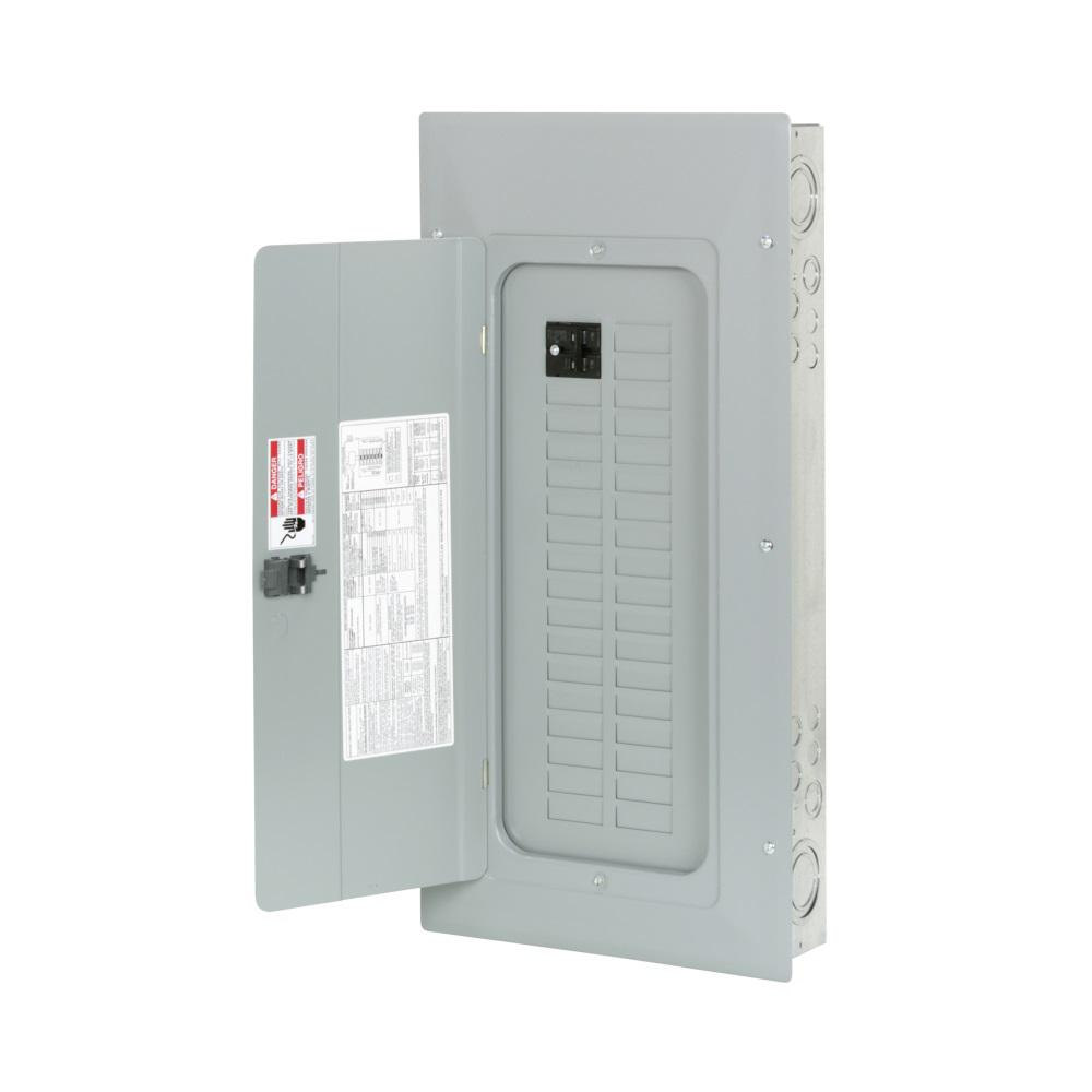 BR 100 Amp 60-Circuit Indoor Main Breaker Plug-On Neutral Load Center