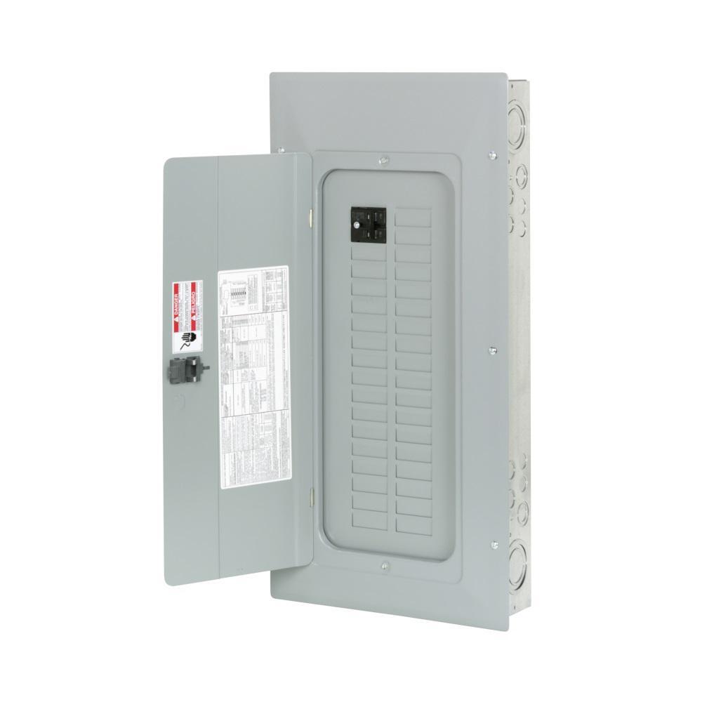 Sie PL Series 100 Amp 20-Space 20-Circuit Main Breaker Indoor ... Main Lug Wiring Diagram on