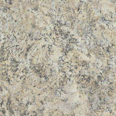 3 in. x 5 in. Laminate Countertop Sample in Typhoon Ice with Premium Antique