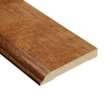 Cherry Natural 1/2 in. Thick x 3-1/2 in. Wide x 94 in. Length Hardwood Wall Base Molding