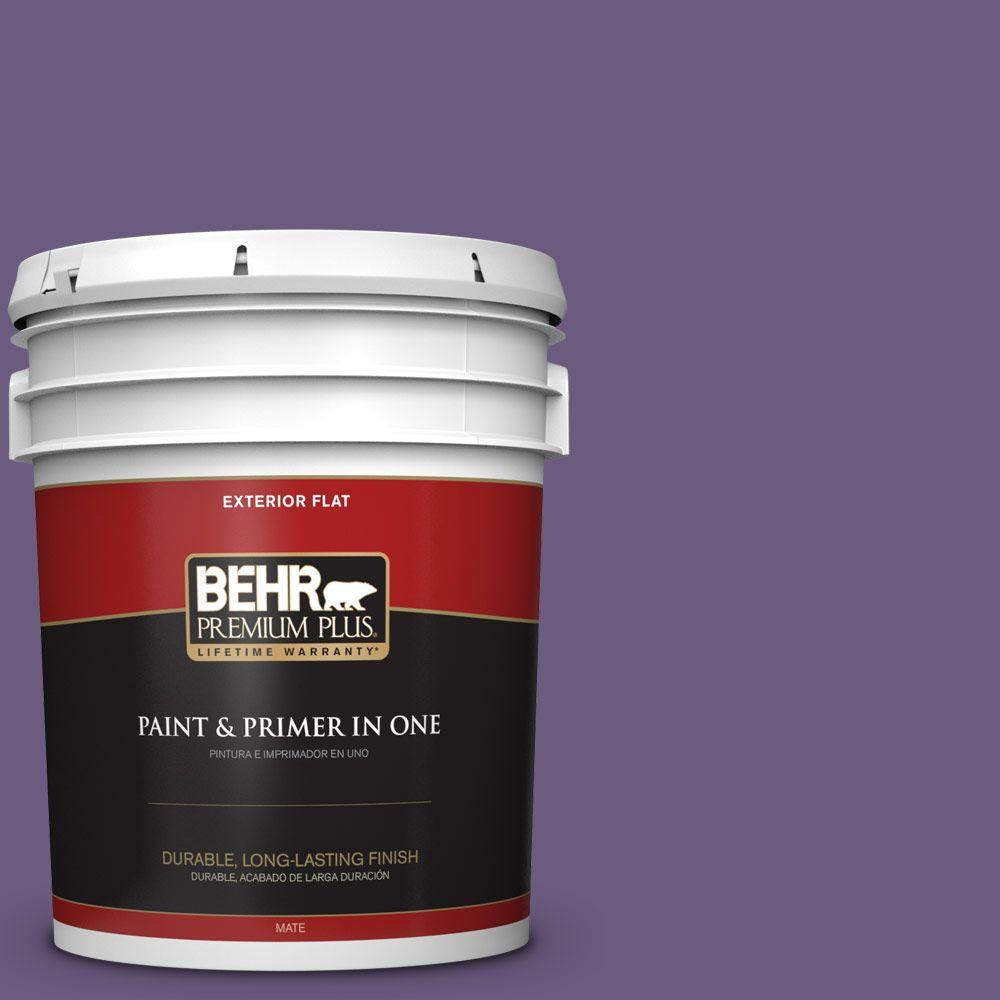 5-gal. #M560-6 Napa Winery Flat Exterior Paint