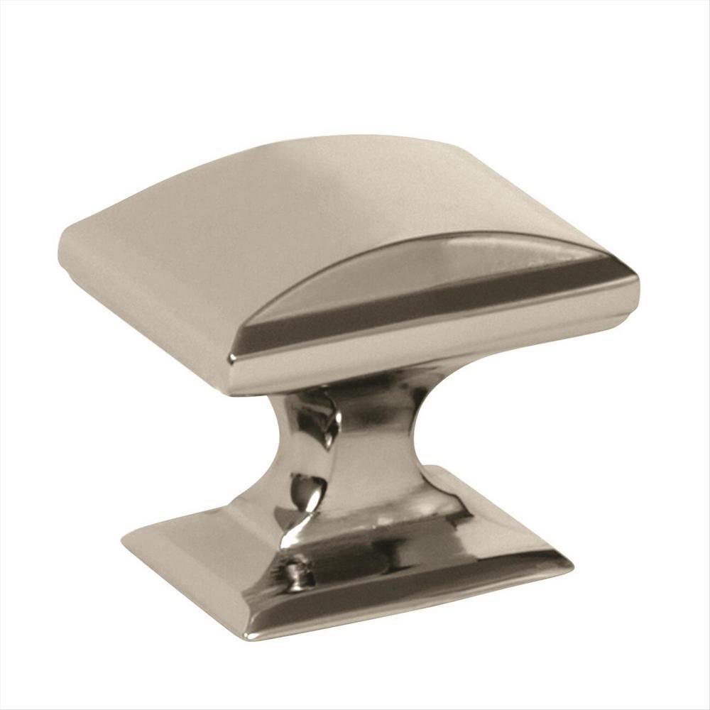 Candler 1-1/4 in. (32 mm) Polished Nickel Cabinet Knob