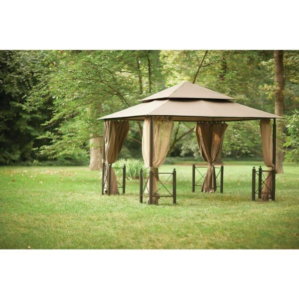 12 ft. x 12 ft. Outdoor Patio Harbor Gazebo