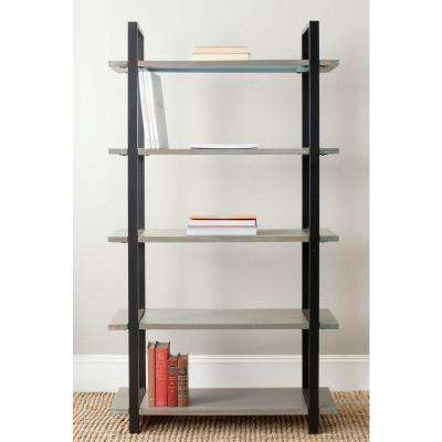 Scott 5-Tier Ash Grey Etagere