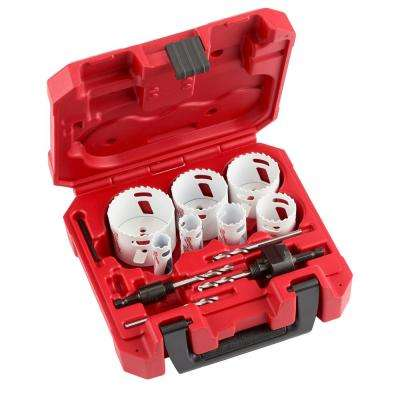 Hole Dozer General Purpose Bi-Metal Hole Saw Set (14 Piece)