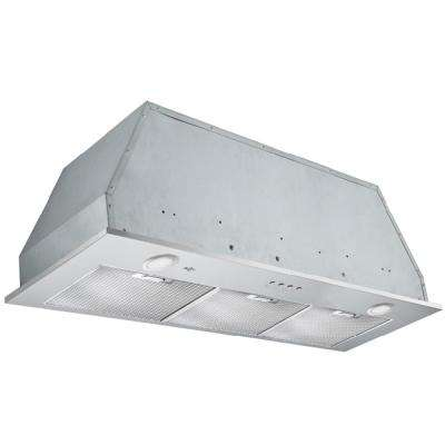 Inserta Elite 36 in. Insert Range Hood with LED in Stainless Steel