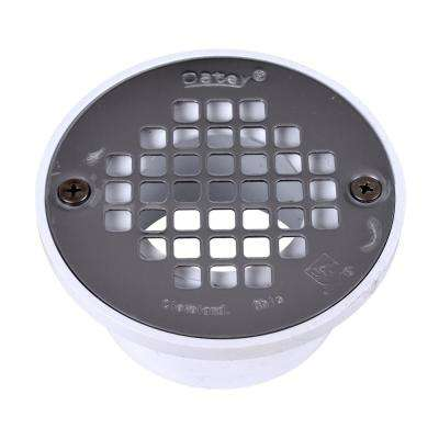 PVC Drain with Stainless Steel Strainer