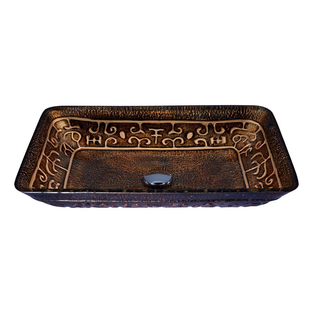 Alto Series Vessel Sink in Macedonian Bronze
