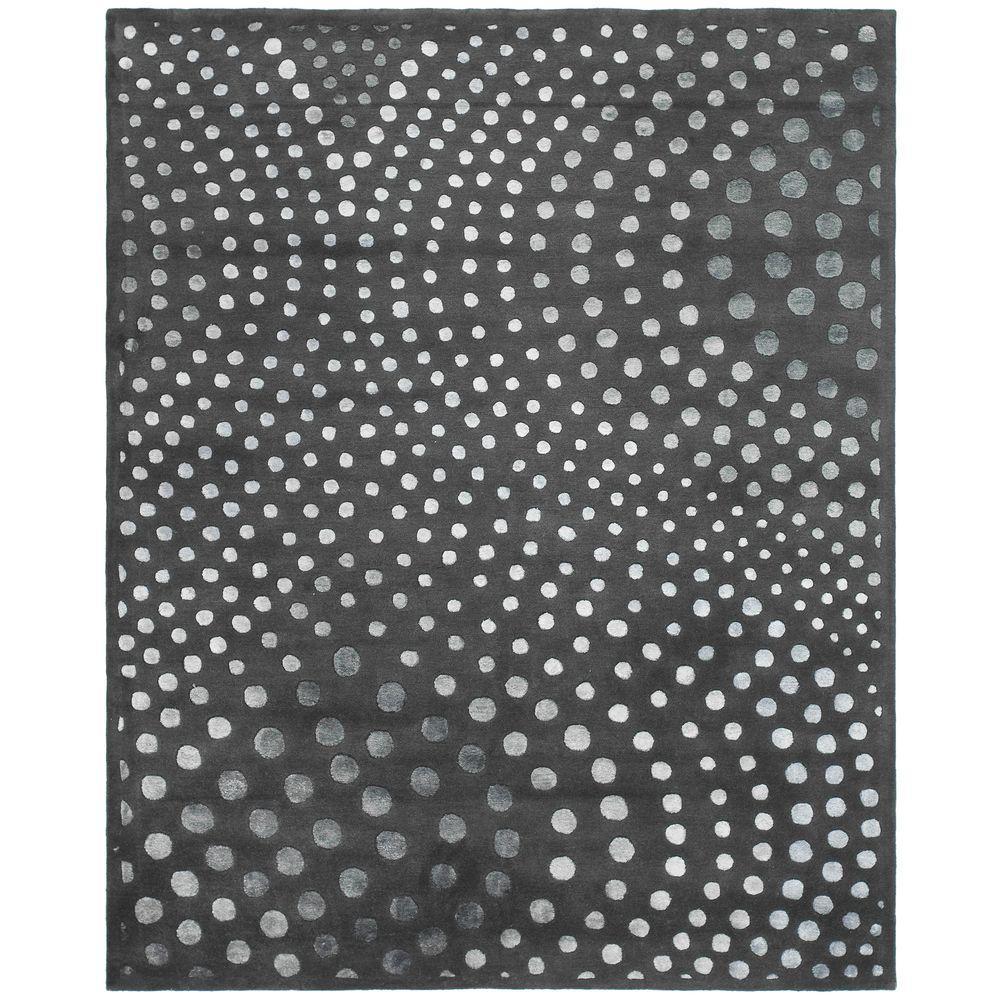 Soho Dark Grey 7 ft. 6 in. x 9 ft. 6