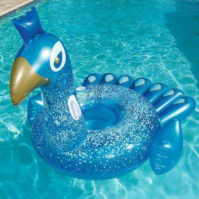 Pretty Peacock Ride-On Float for Swimming Pools (2-Pack)