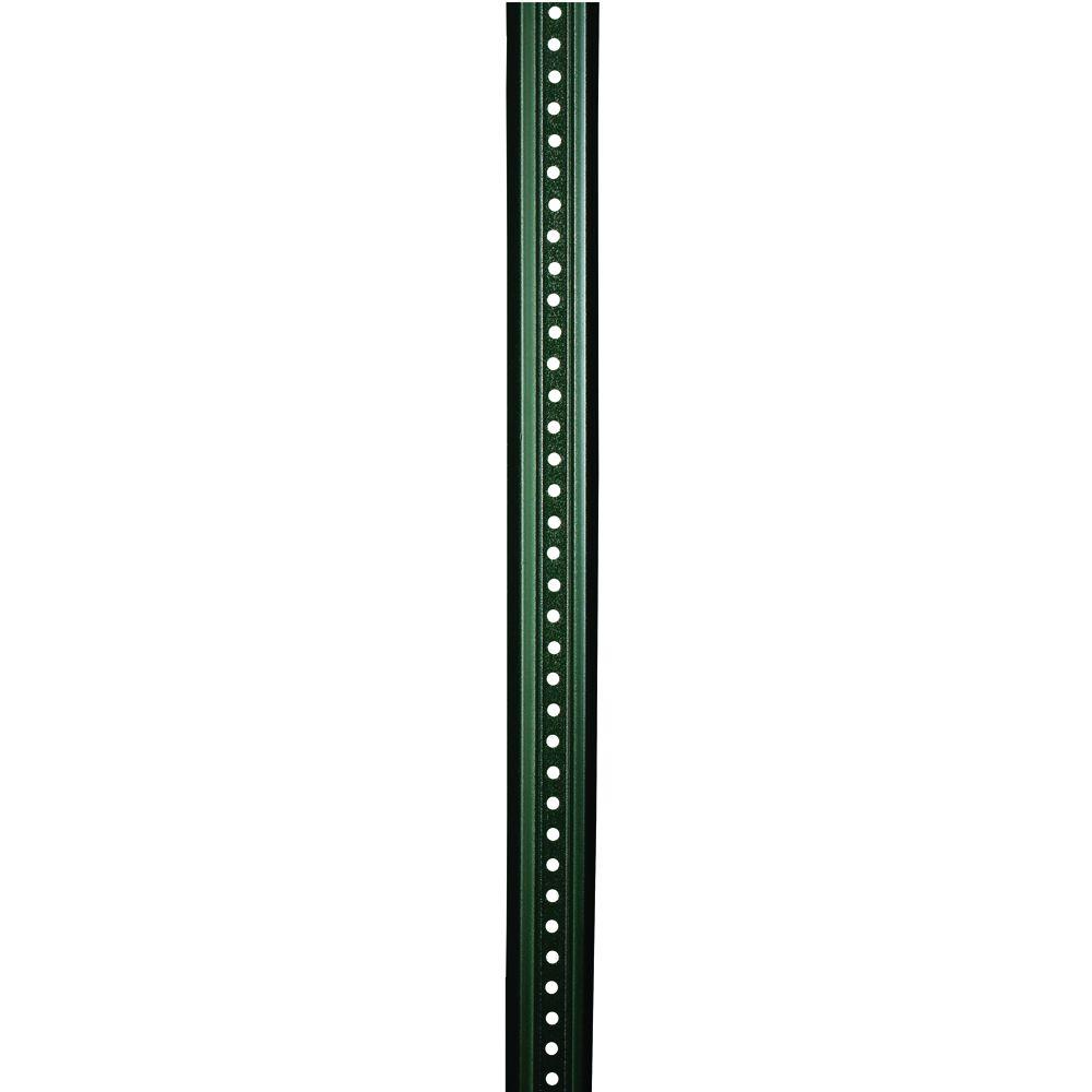 brady 8 ft steel uchannel sign post97204 the home depot