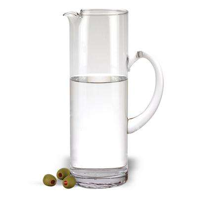 32 oz. 11.5 in. High Celebrate Handmade Glass Pitcher