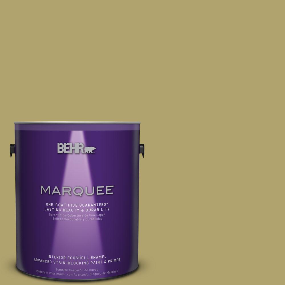 1 gal. #HDC-WR15-10 Green Bean Casserole Eggshell Enamel Interior Paint