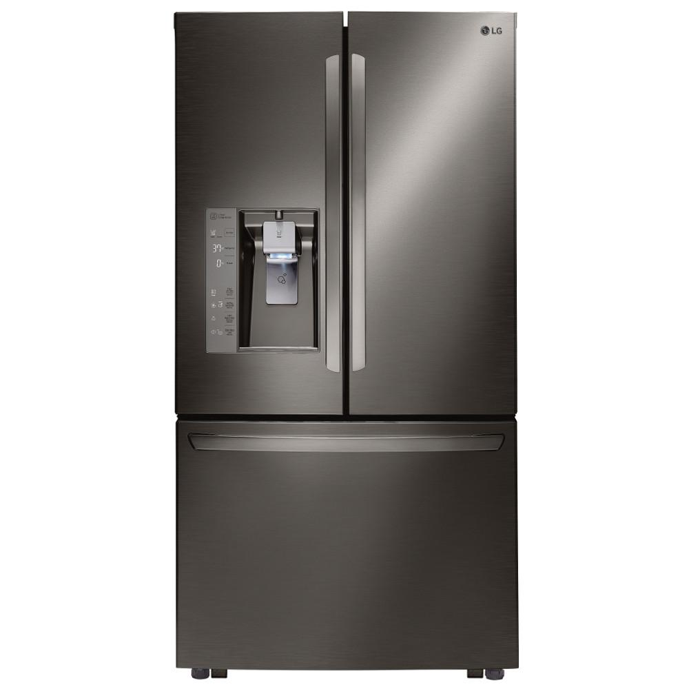 Lg electronics 32 cu ft 3 door french door refrigerator in black lg electronics 32 cu ft 3 door french door refrigerator in black stainless rubansaba