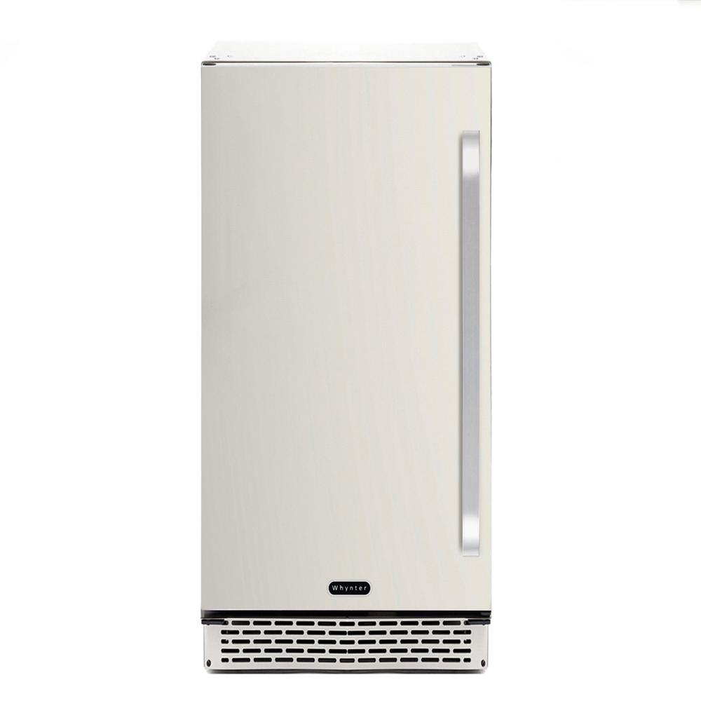 Whynter 3.2 cu. ft. Indoor and Outdoor Refrigerator in Stainless ...