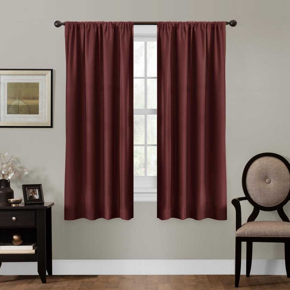 Maytex Julius 50 In. X 63 In. 100% Blackout Smart Curtain
