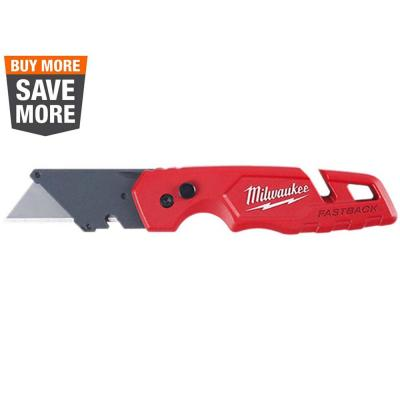 FASTBACK Folding Utility Knife with General Purpose Blade