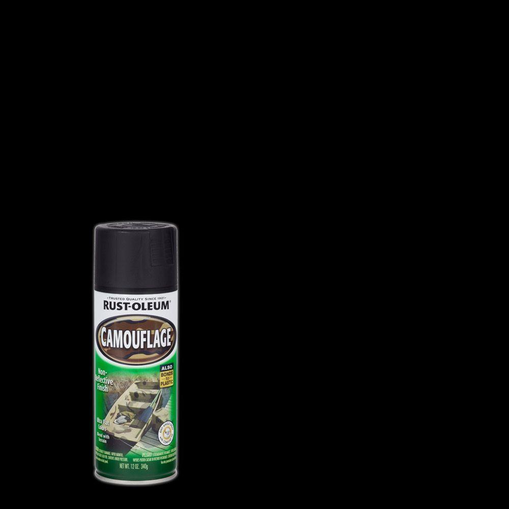 Rust-Oleum Specialty 12 oz. Black Camouflage Spray Paint