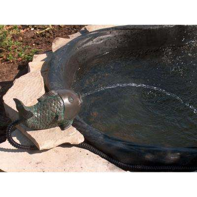 Pond Fish Spitter with Pump and Tubing