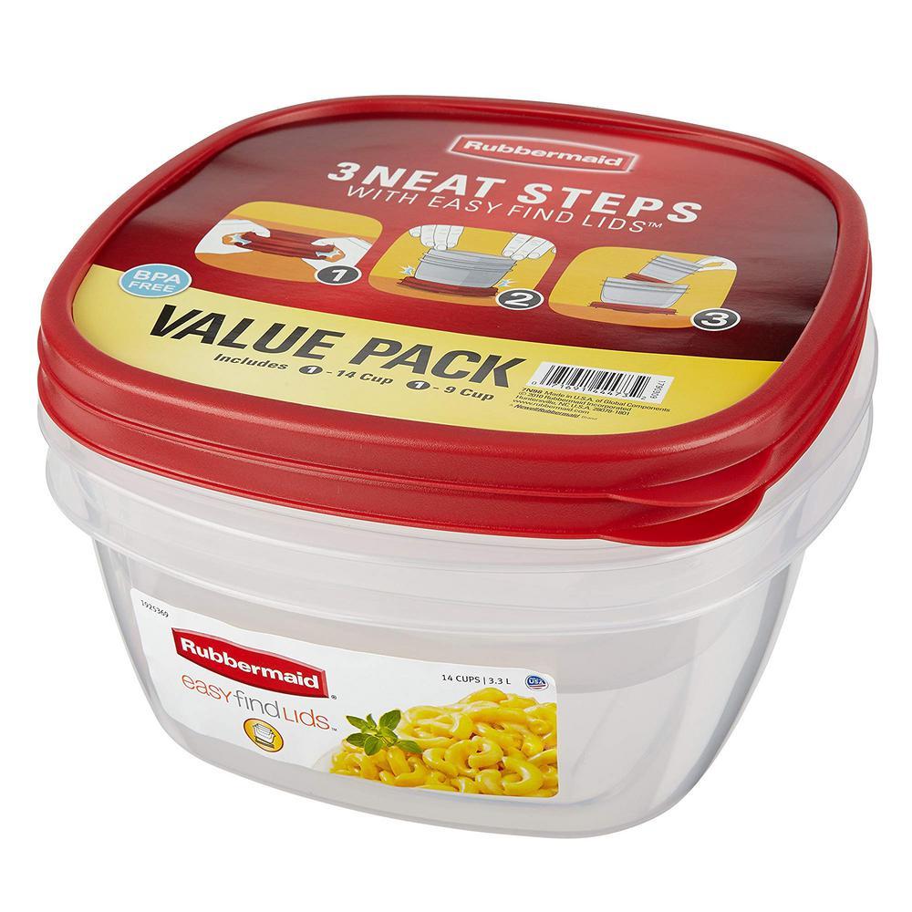 Easy Find Lids Food Storage Set (2-Piece)