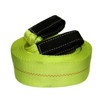 Grip 30 ft. x 4 in. Heavy Duty Tow Strap
