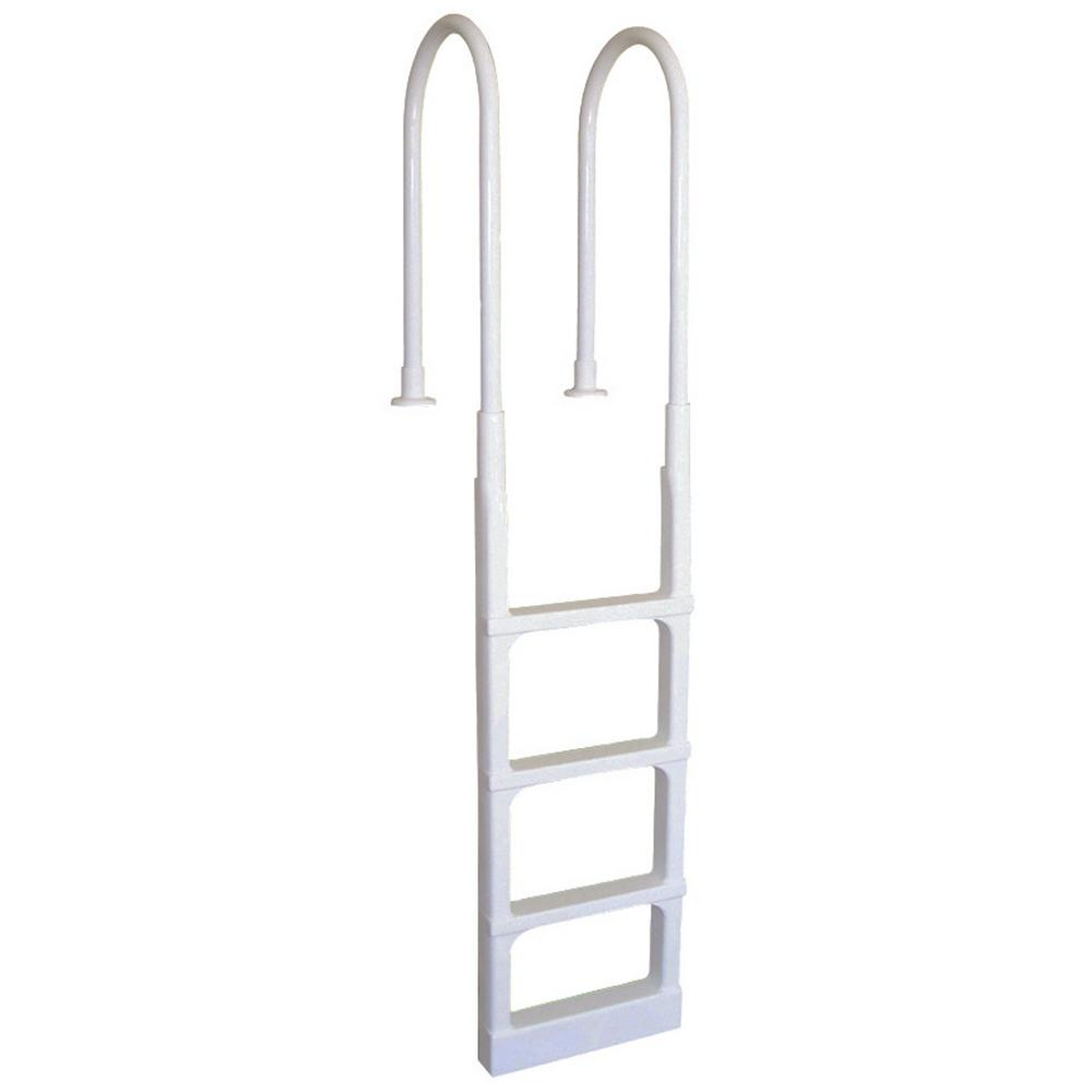 Main Access Pro Series In-Pool Ladder with Mounting Flang...