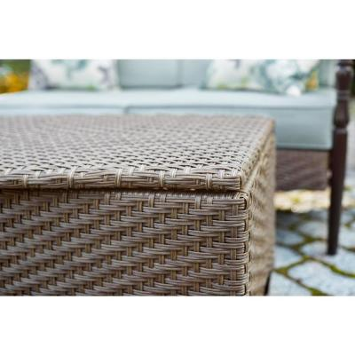 Bolingbrook Trunk Wicker Outdoor Patio Coffee Table