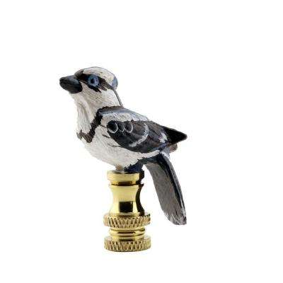 Blue Jay Lamp Finial
