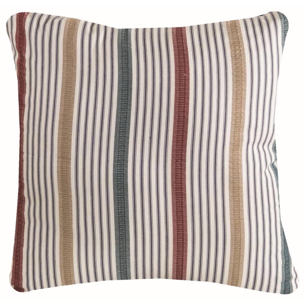 Beach Living Stripe Beach Decorative Pillow