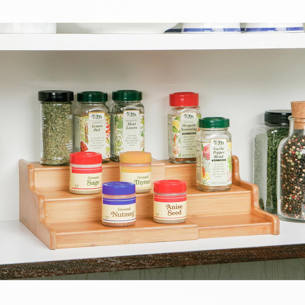 Spice Organizer Rack For 2 Ounce Bottles Spice Storage Rack