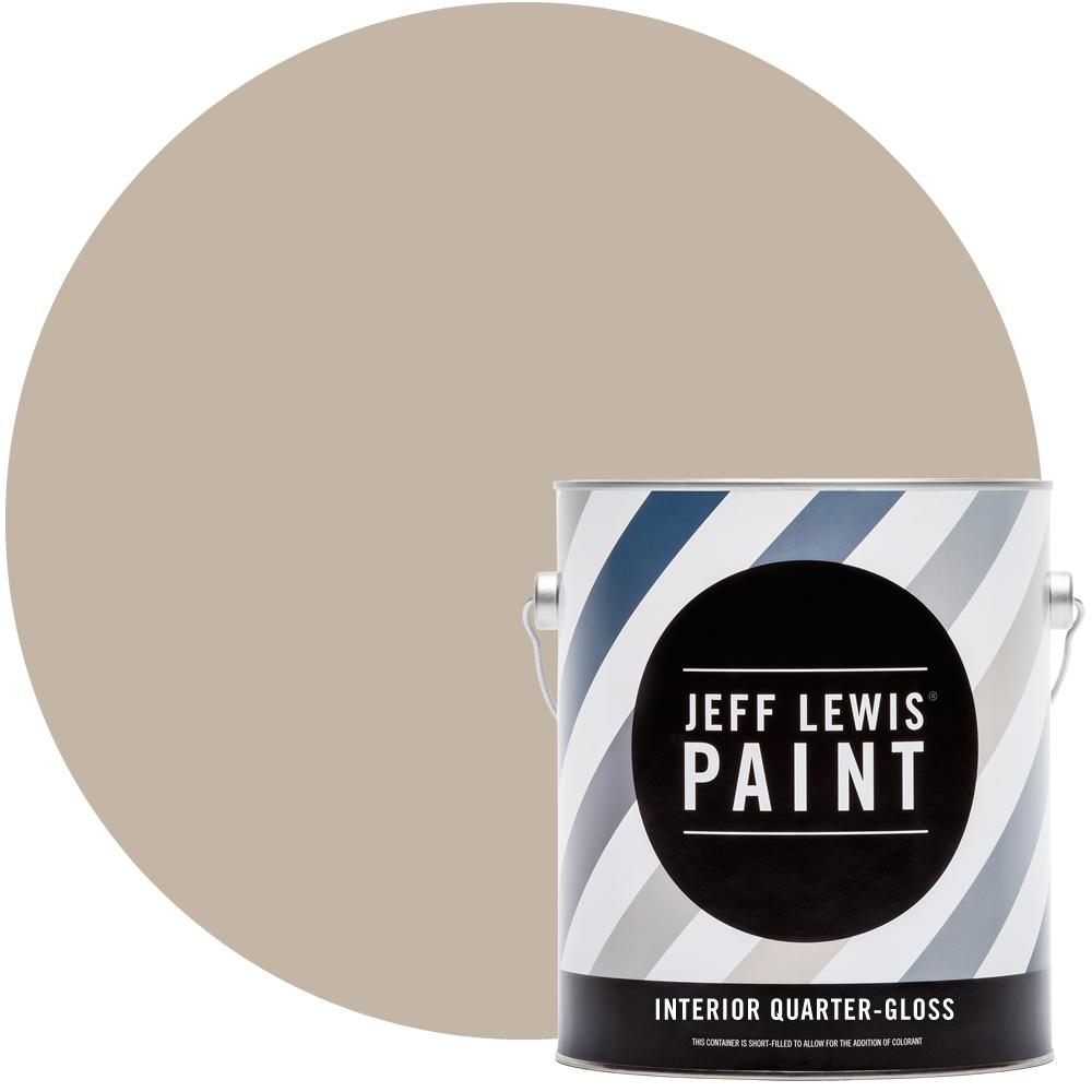 Jeff Lewis 1 gal. #214 Quarry Quarter-Gloss Interior Paint