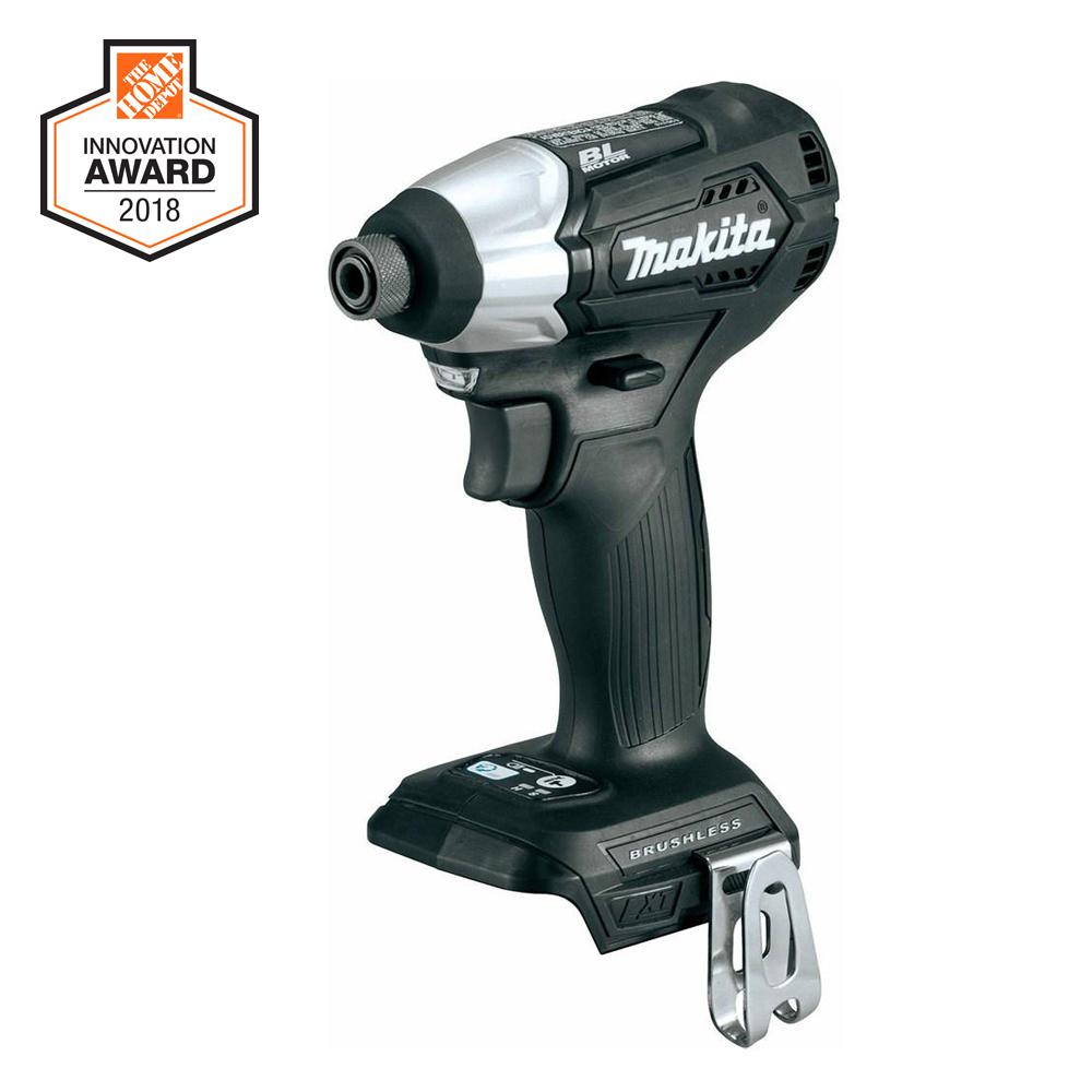 Makita 18-Volt LXT Lithium-Ion Sub-Compact Brushless Cordless Impact Driver (Tool Only)