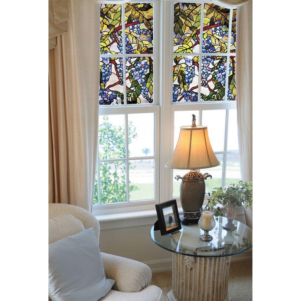 Artscape 24 In X 36 Wisteria Decorative Window Film