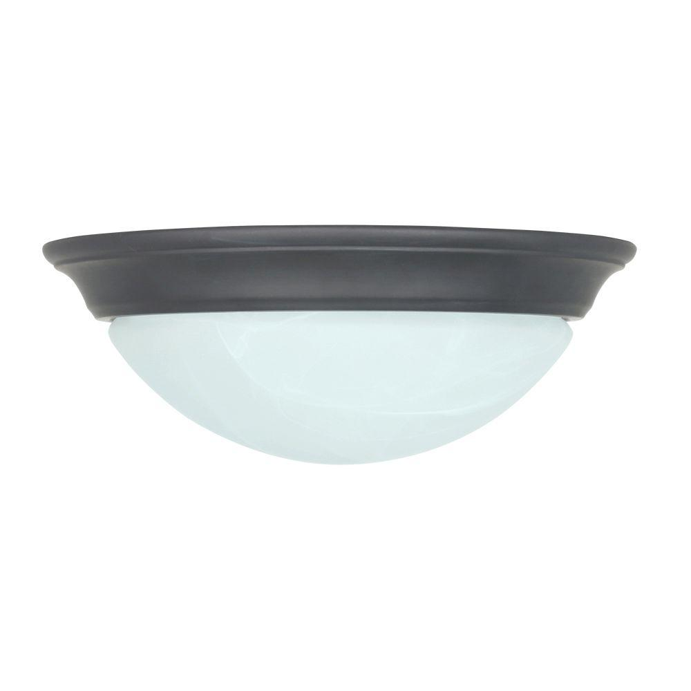 Feit Electric 16-Watt Oil-Rubbed Bronze LED Ceiling Flushmount (4-Pack)