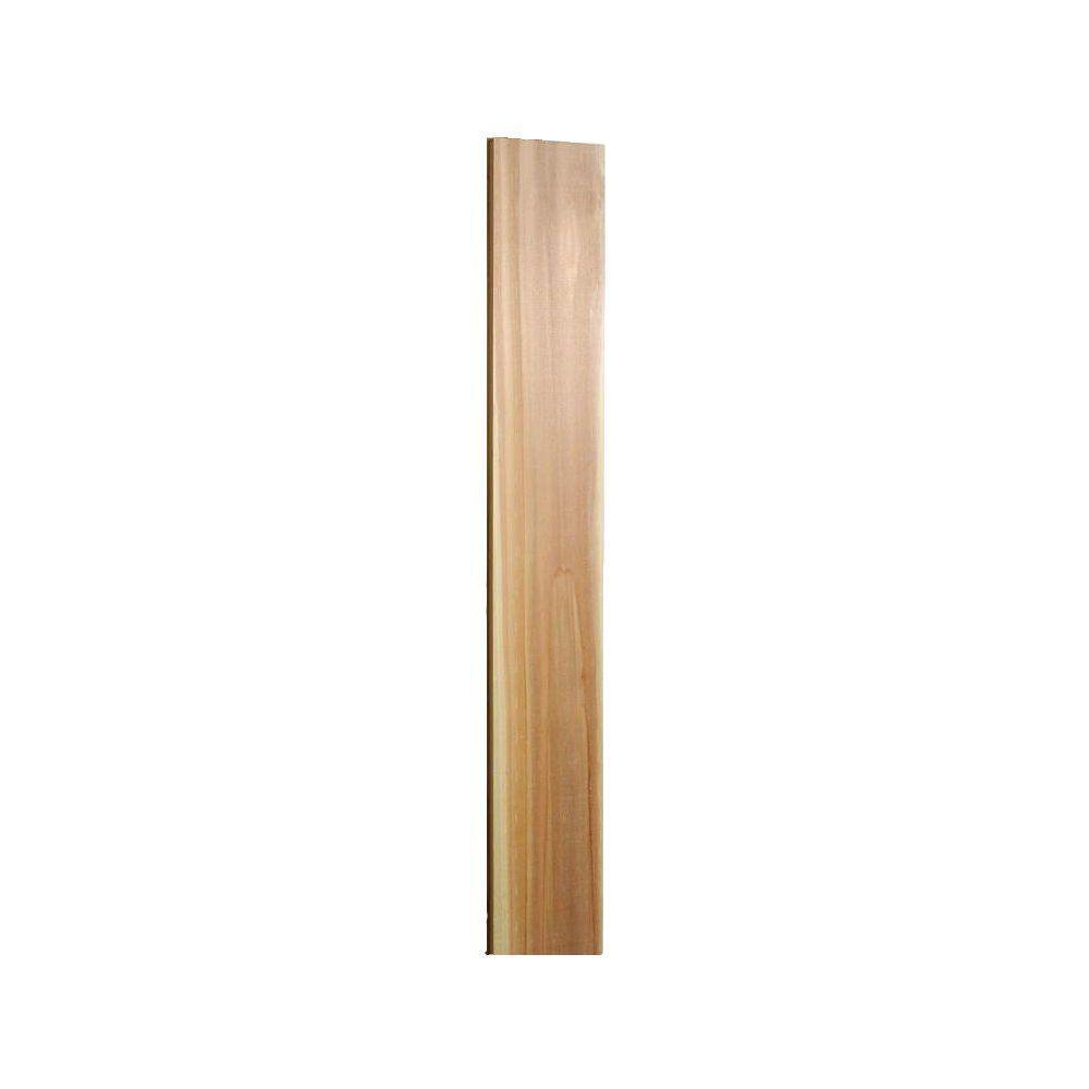1 in. x 4 in. x 12 ft. Select Tight Knot S1S2E Kiln-Dried Cedar Board
