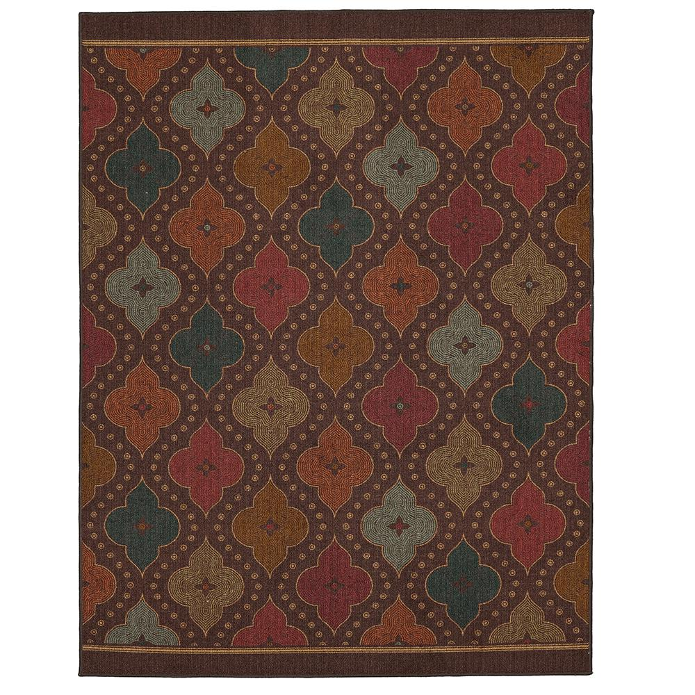 mohawk home jewel medallion garden 7 ft x 10 ft area rug