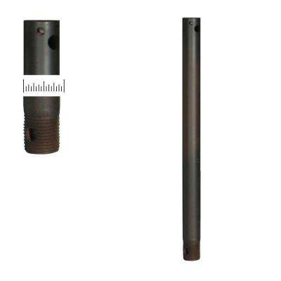 1/2 Dia 12 in. Oil-Rubbed Bronze Extension Downrod
