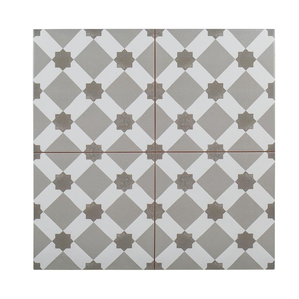 Organza Loom 18 in. x 18 in. Ceramic Wall Tile (10.76
