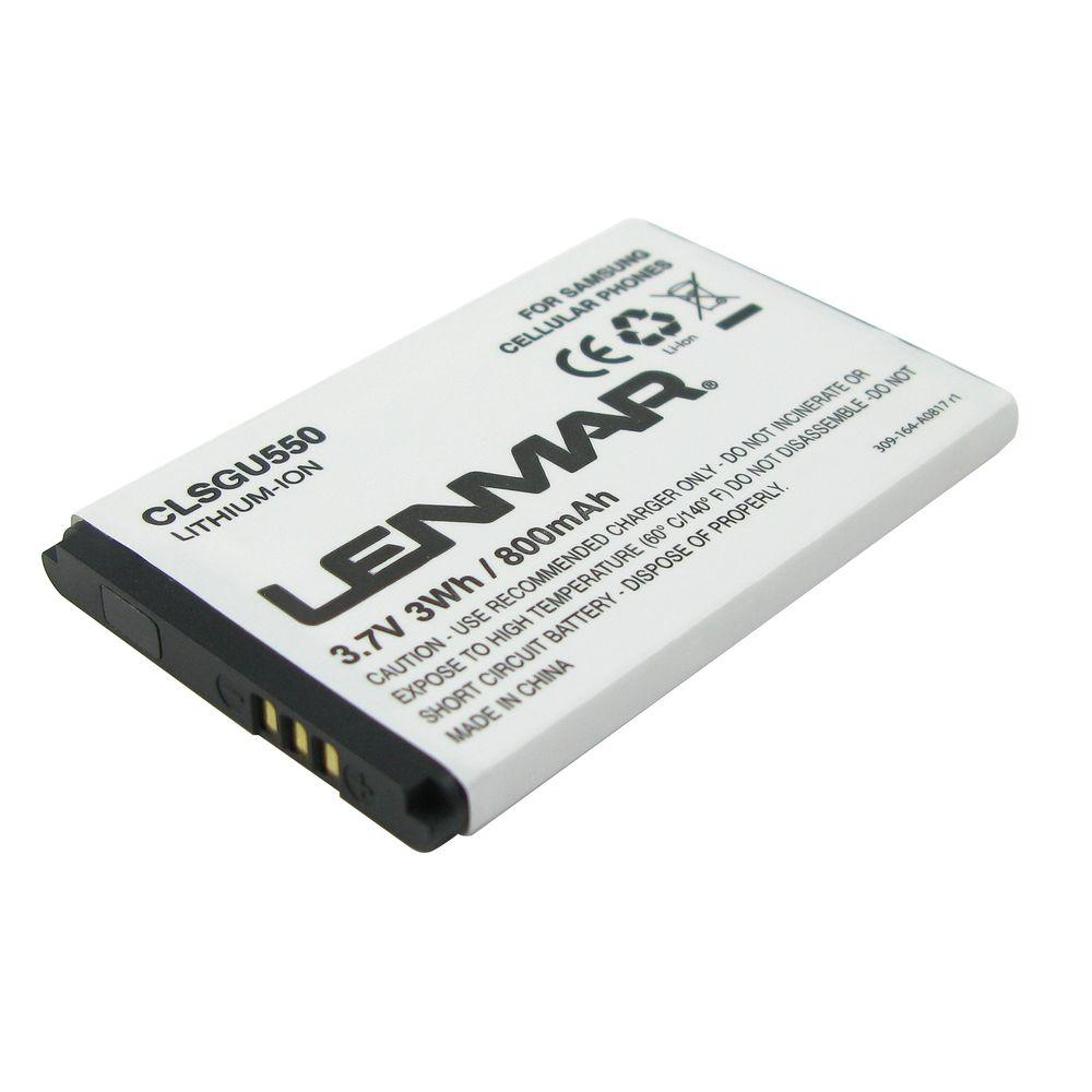 Lenmar Lithium-Ion 800mAh/3.7-Volt Mobile Phone Replacement Battery