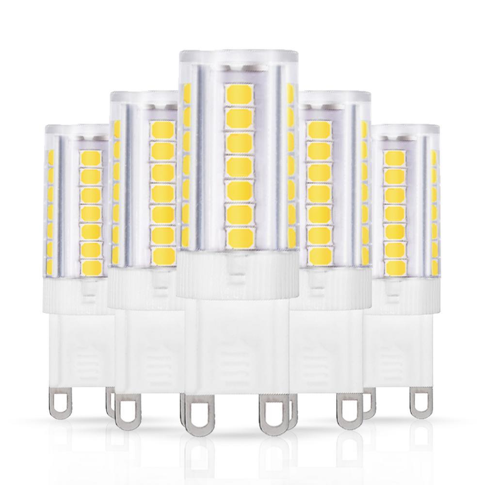 40-Watt Equivalent G9 LED Light Bulb in Cool White (5-Pack)