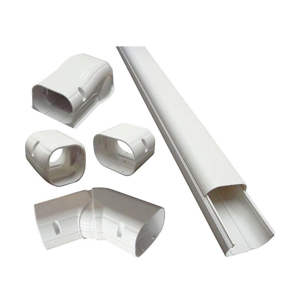 4 in. x 14 ft. Cover Kit for Air Conditioner and