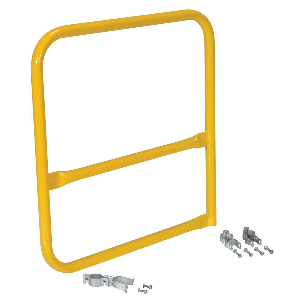 Vestil 36 in. x 36 in. B-Shaped Steel Safety Railing Gate