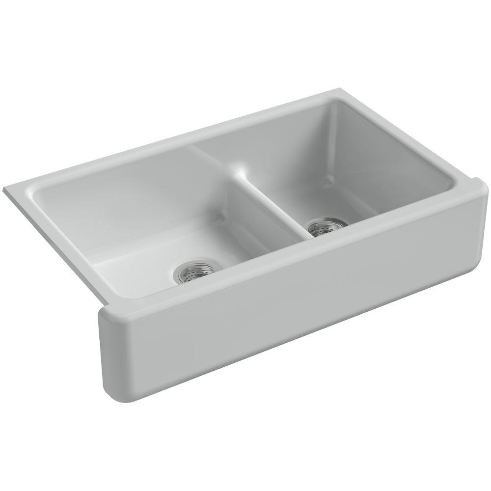 Whitehaven Undermount Apron Front Kitchen Sink K