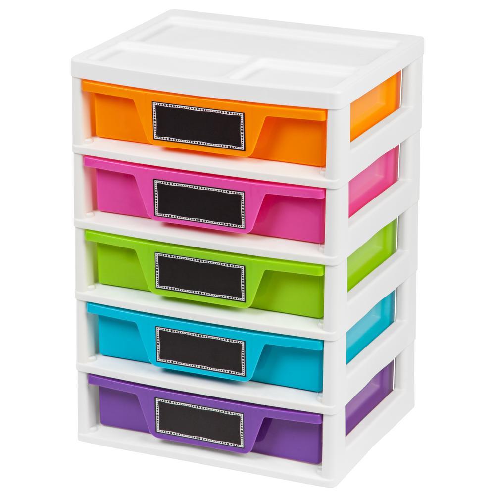 IRIS 14.6 in. x 20.65 in. Drawer Storage and Organizer Ch...