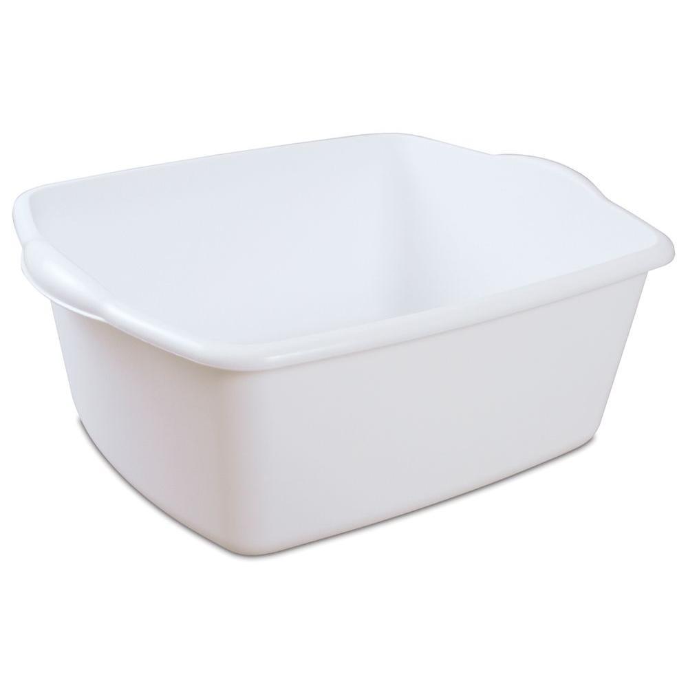 Quick Trip Kitchens: Sterilite 18 Qt. Kitchen Dish Pan-06588012