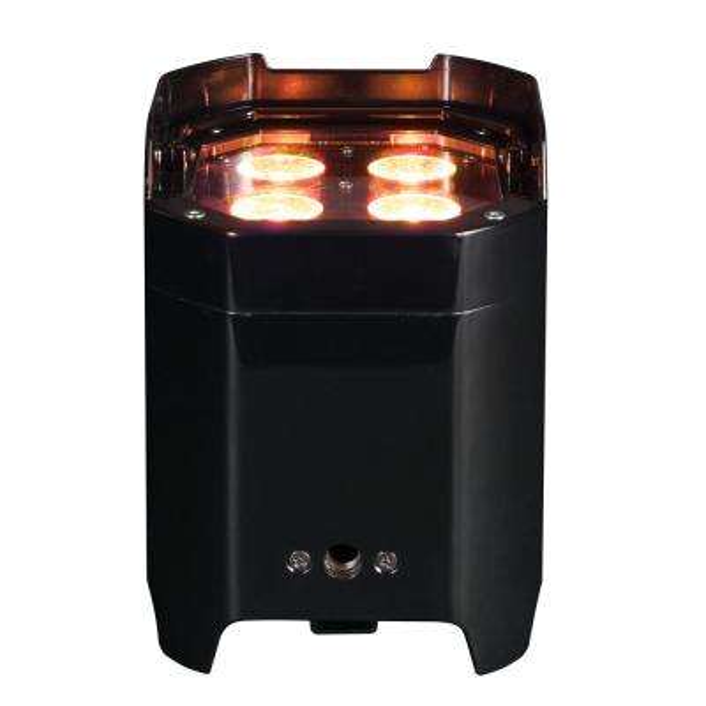 Element Black 10-Watt Hex Wifly DMX RBAW +UV Par High Bay Integrated LED Commercial Light Type