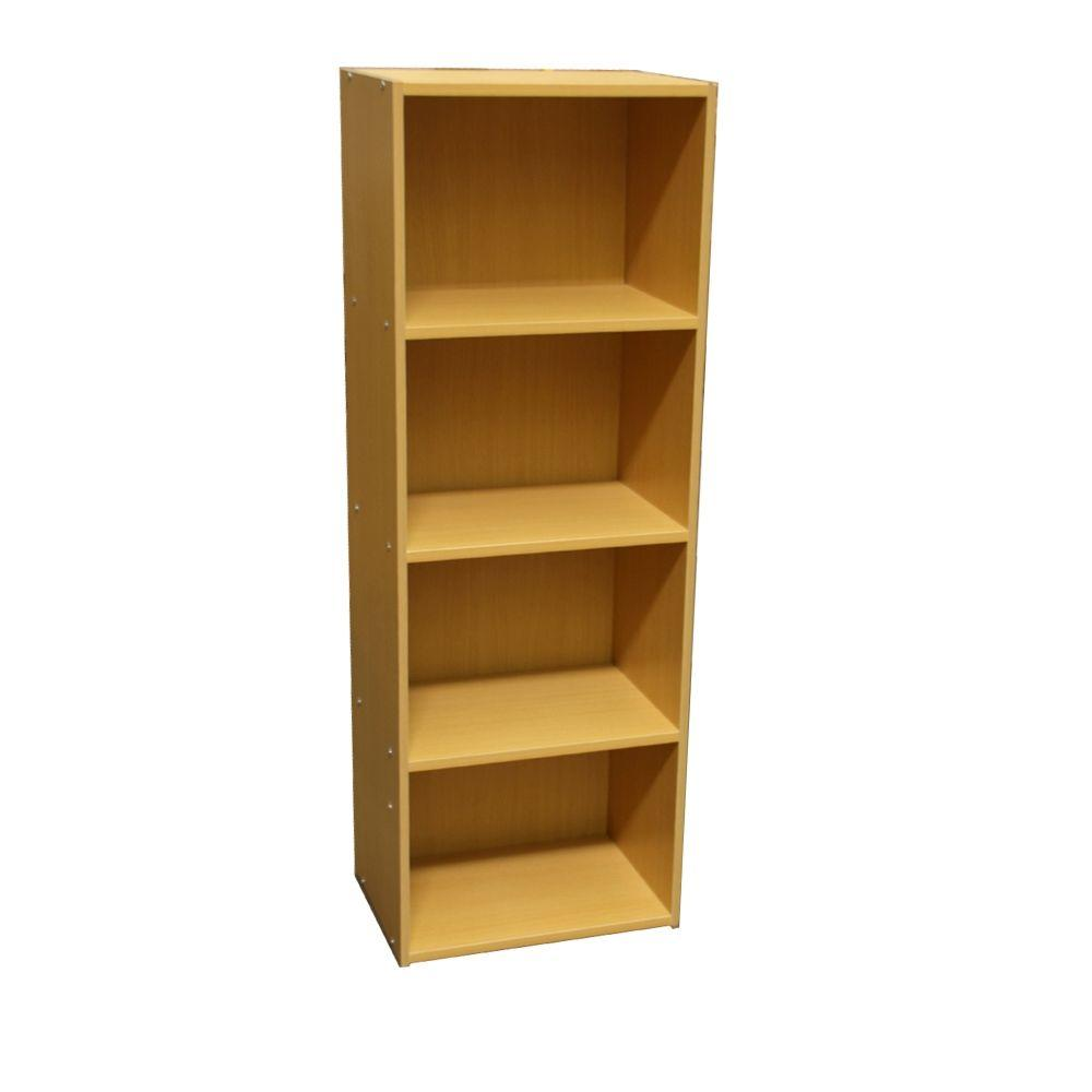 Home decorators collection natural folding stacking open for Home decorators bookcase