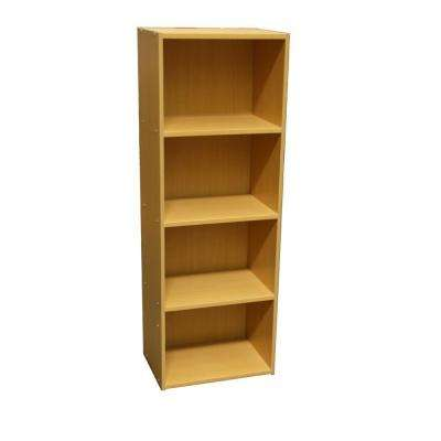 Natural Open Bookcase