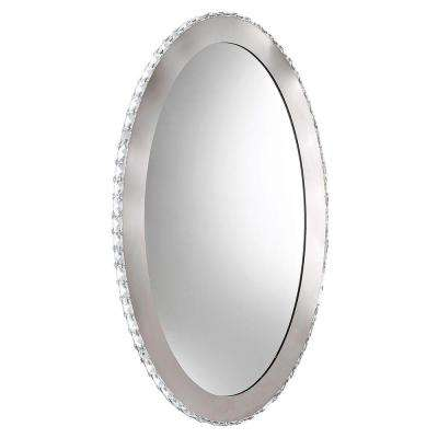 Toneria 9-Light Chrome LED Mirror